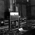 Installation du studio de Radio CBC