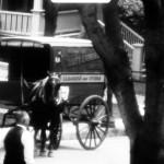 Un marchand ambulant sur l'Avenue Mt.Stephen à Westmount en 1937