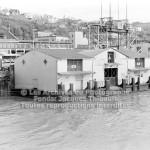 Le quai d'embarquement de la traverse de Québec à Lévis en 1970