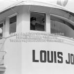 Le poste de pilotage du traversier Louis-Jolliet en 1970