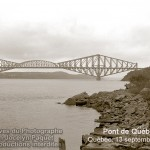 Le pont de Québec achevé le 20 septembre 1917. Le voici le 13 septembre 1952.