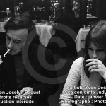 Les artistes Yvon Deschamps et sa conjointe Judy Richards